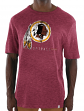 "Washington Redskins Majestic NFL ""Hyper Stack"" Men's Premium Slub T-Shirt"