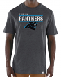 "Carolina Panthers Majestic NFL ""Flex Team"" Men's Premium Tri-Blend T-Shirt"