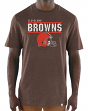 "Cleveland Browns Majestic NFL ""Flex Team"" Men's Premium Tri-Blend T-Shirt"