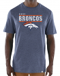 "Denver Broncos Majestic NFL ""Flex Team"" Men's Premium Tri-Blend T-Shirt"