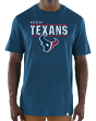 "Houston Texans Majestic NFL ""Flex Team"" Men's Premium Tri-Blend T-Shirt"