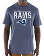 "Los Angeles Rams Majestic NFL ""Flex Team"" Men's Premium Tri-Blend T-Shirt"