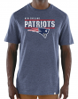 "New England Patriots Majestic NFL ""Flex Team"" Men's Premium Tri-Blend T-Shirt"