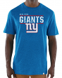 "New York Giants Majestic NFL ""Flex Team"" Men's Premium Tri-Blend T-Shirt"