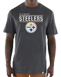 "Pittsburgh Steelers Majestic NFL ""Flex Team"" Men's Premium Tri-Blend T-Shirt"