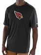 "Arizona Cardinals Majestic NFL ""Unmatched"" Men's S/S Performance Shirt"