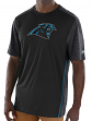 "Carolina Panthers Majestic NFL ""Unmatched"" Men's S/S Performance Shirt"