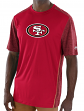 "San Francisco 49ers Majestic NFL ""Unmatched"" Men's S/S Performance Shirt"