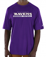 "Baltimore Ravens Majestic NFL ""Total Fanfare"" Men's S/S Performance Shirt"