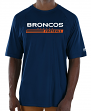 "Denver Broncos Majestic NFL ""Total Fanfare"" Men's S/S Performance Shirt"