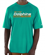 "Miami Dolphins Majestic NFL ""Total Fanfare"" Men's S/S Performance Shirt"
