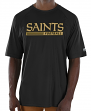"New Orleans Saints Majestic NFL ""Total Fanfare"" Men's S/S Performance Shirt"