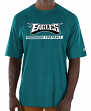 "Philadelphia Eagles Majestic NFL ""Total Fanfare"" Men's S/S Performance Shirt"