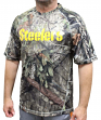 "Pittsburgh Steelers Majestic NFL ""In The Woods"" Men's Camo Short Sleeve T-Shirt"
