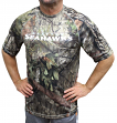 "Seattle Seahawks Majestic NFL ""In The Woods"" Men's Camo Short Sleeve T-Shirt"