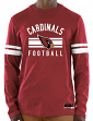 "Arizona Cardinals Majestic NFL ""Full Strike"" Men's Long Sleeve Crew Shirt"