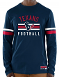 "Houston Texans Majestic NFL ""Full Strike"" Men's Long Sleeve Crew Shirt"
