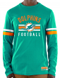 "Miami Dolphins Majestic NFL ""Full Strike"" Men's Long Sleeve Crew Shirt"