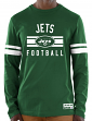 "New York Jets Majestic NFL ""Full Strike"" Men's Long Sleeve Crew Shirt"