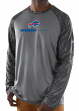 "Buffalo Bills Majestic NFL ""Rivalry"" Men's Performance L/S Gray Shirt"