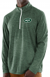 "New York Jets Majestic NFL ""Play to Win"" 1/2 Zip Mock Neck Pullover Shirt"