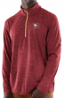 "San Francisco 49ers Majestic NFL ""Play to Win"" 1/2 Zip Mock Neck Pullover Shirt"