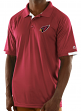 "Arizona Cardinals Majestic NFL ""Club Level"" Men's Short Sleeve Polo Shirt"
