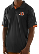 "Cincinnati Bengals Majestic NFL ""Club Level"" Men's Short Sleeve Polo Shirt"