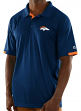 "Denver Broncos Majestic NFL ""Club Level"" Men's Short Sleeve Polo Shirt"