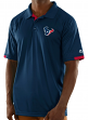"Houston Texans Majestic NFL ""Club Level"" Men's Short Sleeve Polo Shirt"