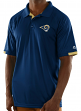 "Los Angeles Rams Majestic NFL ""Club Level"" Men's Short Sleeve Polo Shirt"