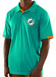 "Miami Dolphins Majestic NFL ""Club Level"" Men's Short Sleeve Polo Shirt"