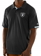 "Oakland Raiders Majestic NFL ""Club Level"" Men's Short Sleeve Polo Shirt"