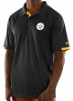 "Pittsburgh Steelers Majestic NFL ""Club Level"" Men's Short Sleeve Polo Shirt"