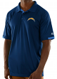 "Los Angeles Chargers Majestic NFL ""Club Level"" Men's Short Sleeve Polo Shirt"
