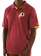 "Washington Redskins Majestic NFL ""Club Level"" Men's Short Sleeve Polo Shirt"