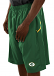 "Green Bay Packers Majestic NFL ""Cut Above"" Men's Synthetic Shorts"