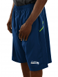 """Seattle Seahawks Majestic NFL """"Cut Above"""" Men's Synthetic Shorts"""