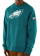 "Philadelphia Eagles Majestic NFL ""Legendary"" Men's Pullover Crew Sweatshirt"