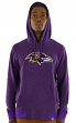"Baltimore Ravens Majestic NFL ""Gameday 2"" Men's Pullover Hooded Sweatshirt"