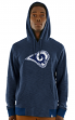 "Los Angeles Rams Majestic NFL ""Gameday 2"" Men's Pullover Hooded Sweatshirt"