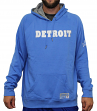"Detroit Lions Majestic NFL ""Dynasty"" Men's Pullover Hooded Sweatshirt"