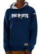 New England Patriots Majestic NFL Dynasty Men's Pullover Hooded Sweatshirt