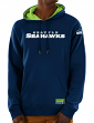 "Seattle Seahawks Majestic NFL ""Dynasty"" Men's Pullover Hooded Sweatshirt"