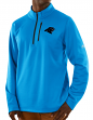 "Carolina Panthers Majestic NFL ""Scoring"" Men's 1/2 Zip Midweight Sweatshirt"