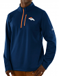 "Denver Broncos Majestic NFL ""Scoring"" Men's 1/2 Zip Midweight Sweatshirt"