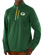 "Green Bay Packers Majestic NFL ""Scoring"" Men's 1/2 Zip Midweight Sweatshirt"