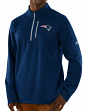 "New England Patriots Majestic NFL ""Scoring"" 1/2 Zip Midweight Sweatshirt"