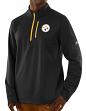 "Pittsburgh Steelers Majestic NFL ""Scoring"" Men's 1/2 Zip Midweight Sweatshirt"
