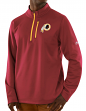 "Washington Redskins Majestic NFL ""Scoring"" Men's 1/2 Zip Midweight Sweatshirt"